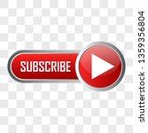 subscribe now button for social ... | Shutterstock .eps vector #1359356804