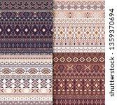 aztec tribal ethnic motifs... | Shutterstock .eps vector #1359370694