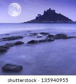 st michael's mount bay marazion ...   Shutterstock . vector #135940955
