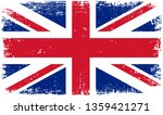 grunge united kingdom flag | Shutterstock .eps vector #1359421271