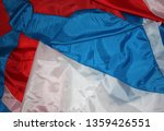 pieces of red  white and blue...   Shutterstock . vector #1359426551