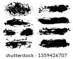 brush strokes. vector...   Shutterstock .eps vector #1359426707
