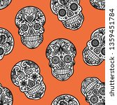 seamless vector pattern with... | Shutterstock .eps vector #1359451784