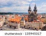 Prague   July 9  Old Town...