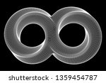 mobius strip ring sacred... | Shutterstock . vector #1359454787
