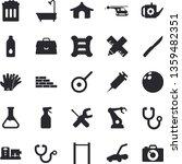 solid vector icon set   brick...   Shutterstock .eps vector #1359482351