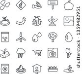 thin line icon set   storm... | Shutterstock .eps vector #1359482951