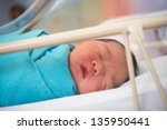 Asian Newborn Baby Girl 1 Day...