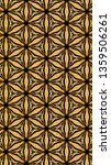 ornate geometric pattern and...   Shutterstock . vector #1359506261