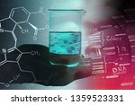 earth in laboratory glass.... | Shutterstock . vector #1359523331