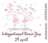international dance day. april... | Shutterstock .eps vector #1359541394