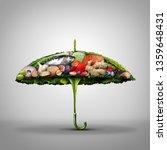 healthy food disease prevention ... | Shutterstock . vector #1359648431