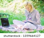 business lady freelance work... | Shutterstock . vector #1359664127