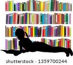 children reading the book.   Shutterstock .eps vector #1359700244