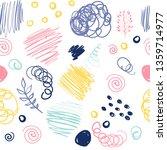 cartoon cute doodles space... | Shutterstock .eps vector #1359714977