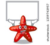 up board red starfish isolated... | Shutterstock .eps vector #1359743957