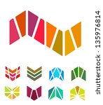 design arrow logo element.... | Shutterstock .eps vector #135976814