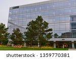 modern office building in santa ... | Shutterstock . vector #1359770381