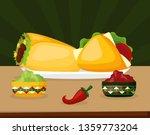 mexico cinco de mayo | Shutterstock .eps vector #1359773204