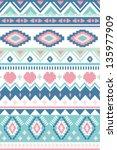 seamless geometric pattern ... | Shutterstock .eps vector #135977909