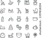 thin line vector icon set  ...   Shutterstock .eps vector #1359818204