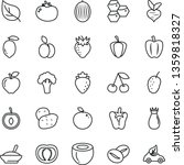 thin line vector icon set   a... | Shutterstock .eps vector #1359818327