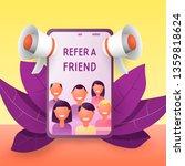 refer a friend concept....