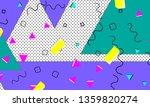 90s pattern. memphis trend.... | Shutterstock .eps vector #1359820274