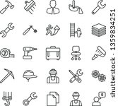 thin line vector icon set  ... | Shutterstock .eps vector #1359834251