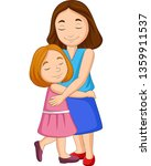 illustration of mother and... | Shutterstock .eps vector #1359911537