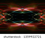 symmetry and reflection. light...   Shutterstock . vector #1359922721