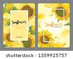 Blooming Beautiful Sunflowers...