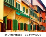 Colorful Windows Located At...