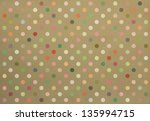 Polka Dot Fabric Background In...