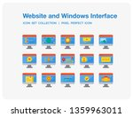 website and windows interface...