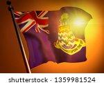 winner waving cayman islands... | Shutterstock . vector #1359981524