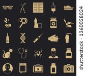 physician icons set. simple set ...   Shutterstock .eps vector #1360028024