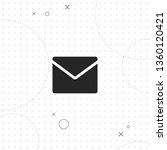 e mail  vector best flat icon... | Shutterstock .eps vector #1360120421
