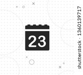 calendar  data  vector best... | Shutterstock .eps vector #1360139717