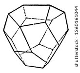 a diagram of tetrahedral... | Shutterstock .eps vector #1360161044
