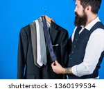 shopping for business attire.... | Shutterstock . vector #1360199534
