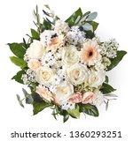 beautiful wedding bouquet... | Shutterstock . vector #1360293251