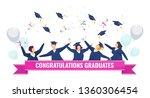 congratulations graduates.... | Shutterstock .eps vector #1360306454