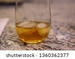 glass of whiskey alcohol liquor ... | Shutterstock . vector #1360362377
