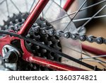 bike chain gear box gearbox... | Shutterstock . vector #1360374821