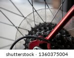 bike chain gear box gearbox... | Shutterstock . vector #1360375004
