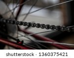 bike chain gear box gearbox... | Shutterstock . vector #1360375421