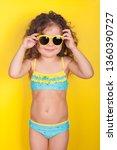 Little Girl In A Bathing Suit...