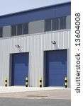 loading bays of an industrial... | Shutterstock . vector #13604008
