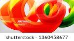 modern geometric circles... | Shutterstock .eps vector #1360458677